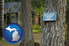 Michigan - rental cabins