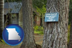 Missouri - rental cabins