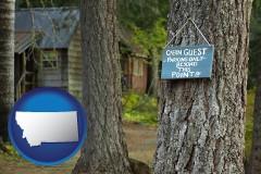 Montana - rental cabins