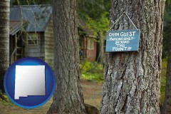 New Mexico - rental cabins