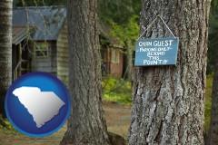 South Carolina - rental cabins