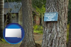 South Dakota - rental cabins