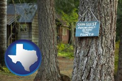 Texas - rental cabins