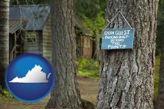 Virginia - rental cabins