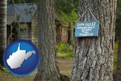 West Virginia - rental cabins
