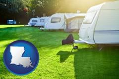 Louisiana - a recreation vehicle park