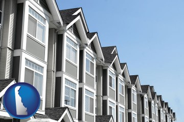 condominiums with Delaware map icon