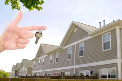 condominiums and a condo key