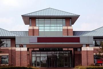 a condominium office building