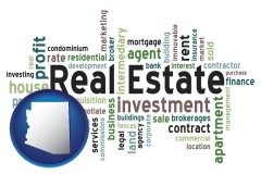 Arizona - real estate concept words