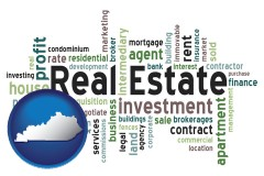 Kentucky - real estate concept words