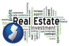 New Jersey - real estate concept words