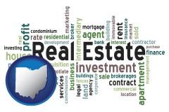 Ohio - real estate concept words
