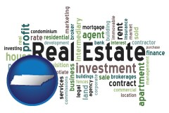 Tennessee - real estate concept words