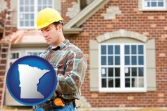Minnesota - a home inspector