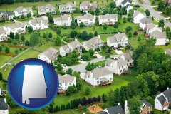 Alabama - a housing development