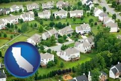 California - a housing development