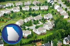 Georgia - a housing development