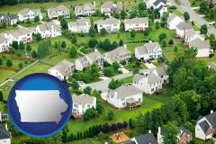Iowa - a housing development