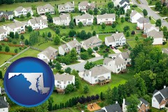 Maryland - a housing development