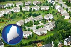 Maine - a housing development