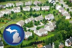 Michigan - a housing development