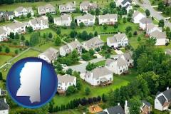 Mississippi - a housing development