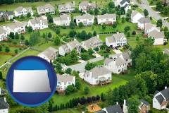 North Dakota - a housing development