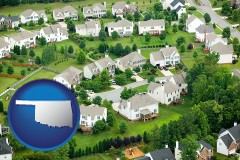 Oklahoma - a housing development