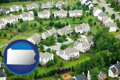 Pennsylvania - a housing development