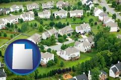 Utah - a housing development