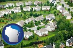 Wisconsin - a housing development