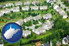 West Virginia - a housing development