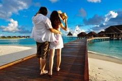 a honeymoon resort