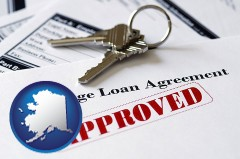 Alaska - an approved mortgage loan agreement