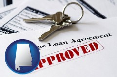 Alabama - an approved mortgage loan agreement