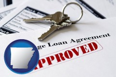Arkansas - an approved mortgage loan agreement