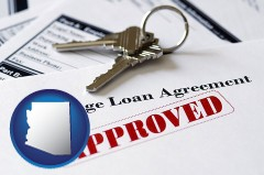 Arizona - an approved mortgage loan agreement