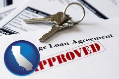 California - an approved mortgage loan agreement