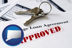 Connecticut - an approved mortgage loan agreement
