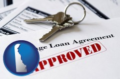 Delaware - an approved mortgage loan agreement