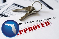 Florida mortgage loan agreement approved