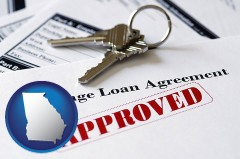 Georgia - an approved mortgage loan agreement