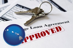Hawaii - an approved mortgage loan agreement
