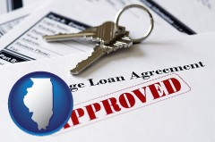 Illinois - an approved mortgage loan agreement
