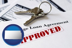 Kansas - an approved mortgage loan agreement