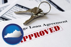 Kentucky mortgage loan agreement approved