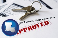 Louisiana - an approved mortgage loan agreement