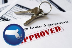 Massachusetts - an approved mortgage loan agreement