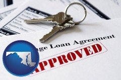 Maryland - an approved mortgage loan agreement